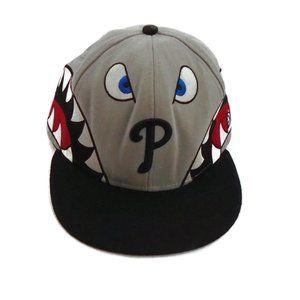 Phillies Baseball MLB Fitted Hat 7 1/4 New Era